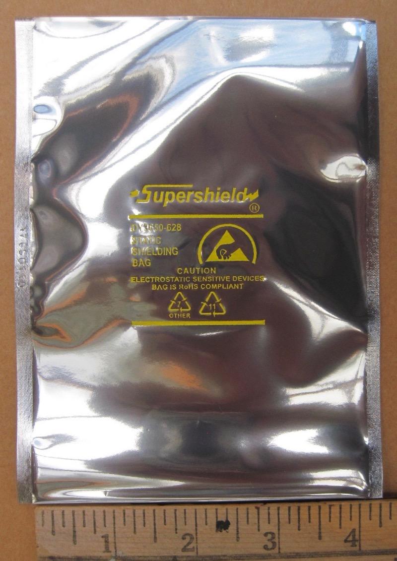 """200 4x6/"""" Open-Top Dou Yee Static Shield Bags"""